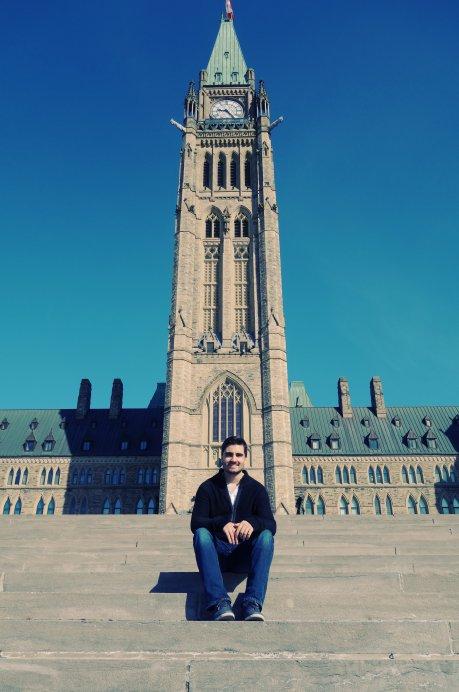 Samuel devant le Parlement